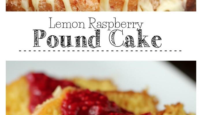 Lemon Raspberry Pound Cake with Sam's Club