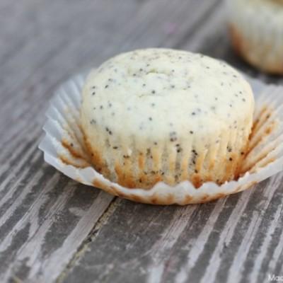 Poppy Seed Lemonade Muffins