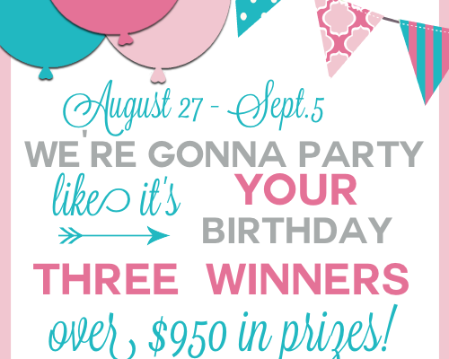 Cards We Drew Birthday Celebration & Giveaway!