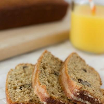 Banana Orange Nut Bread