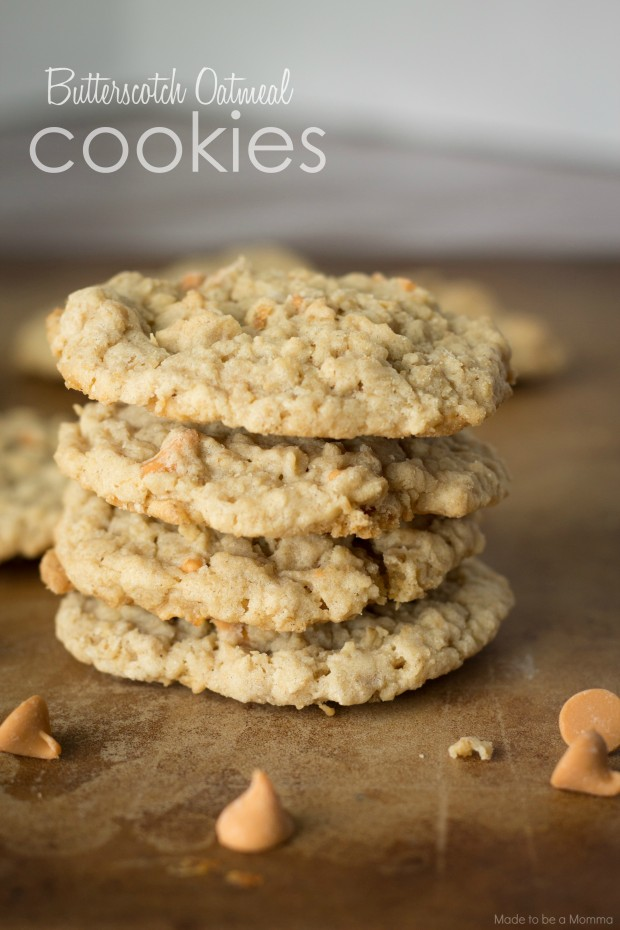 Butterscotch Oatmeal Cookies | - Tastes Better From Scratch