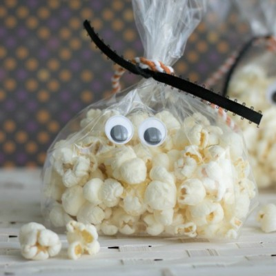 Ghost Popcorn Treat Bags