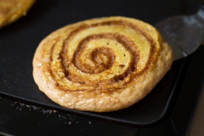 Pumpkin Cinnamon Swirl Pancakes-6652