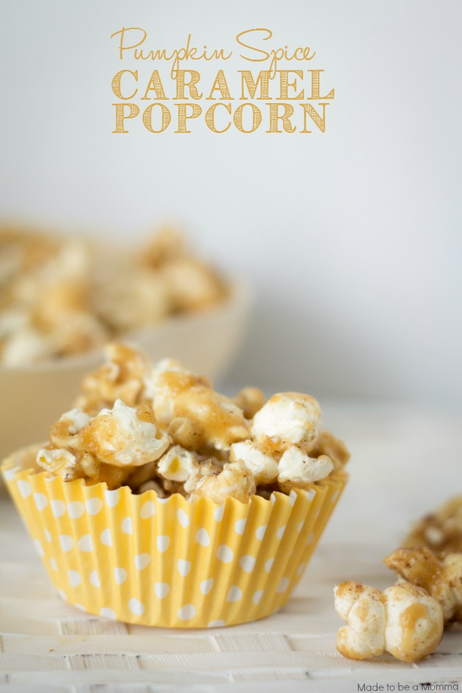 Pumpkin Pie Spice is the secret ingredient that makes this popcorn knock-your-socks-off delicious!