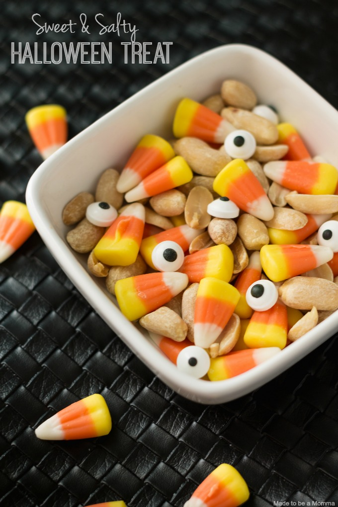 This sweet & salty treat is perfect for any Halloween gathering!