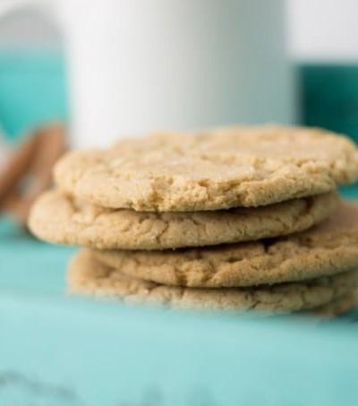 Vanilla Bean Chai Snickerdoodle Cookies