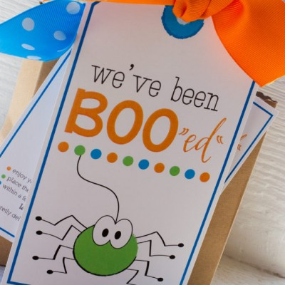 You've Been Boo'ed Halloween Printable-Guest Post