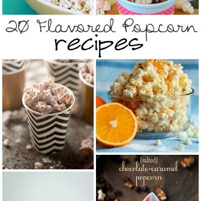 20 Flavored Popcorn Recipes