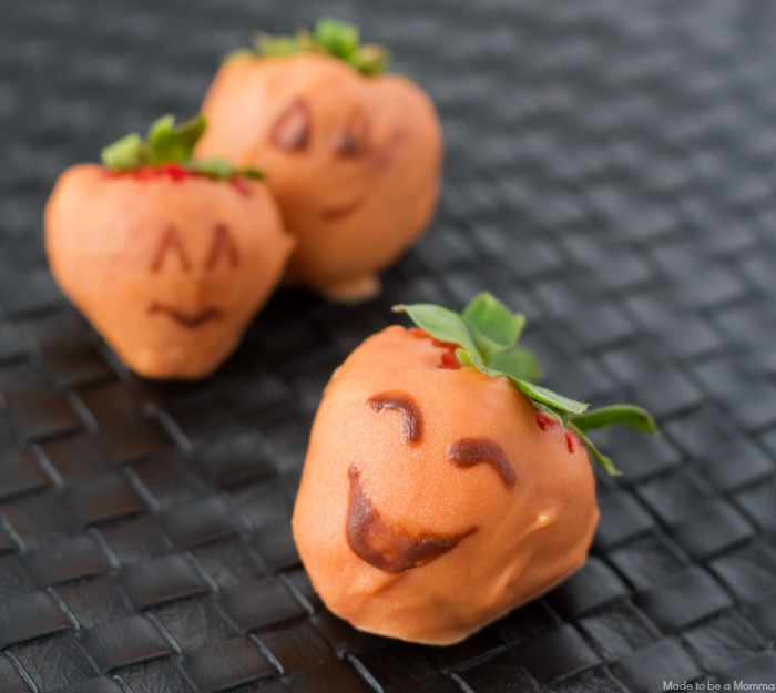 Halloween Strawberries