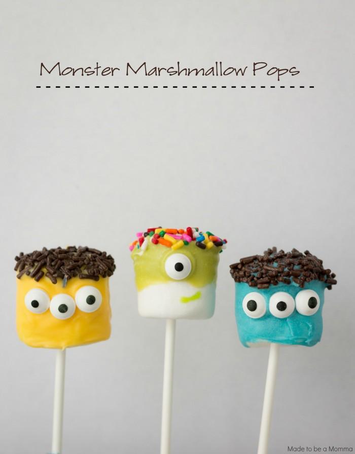 Marshmallow-Pops