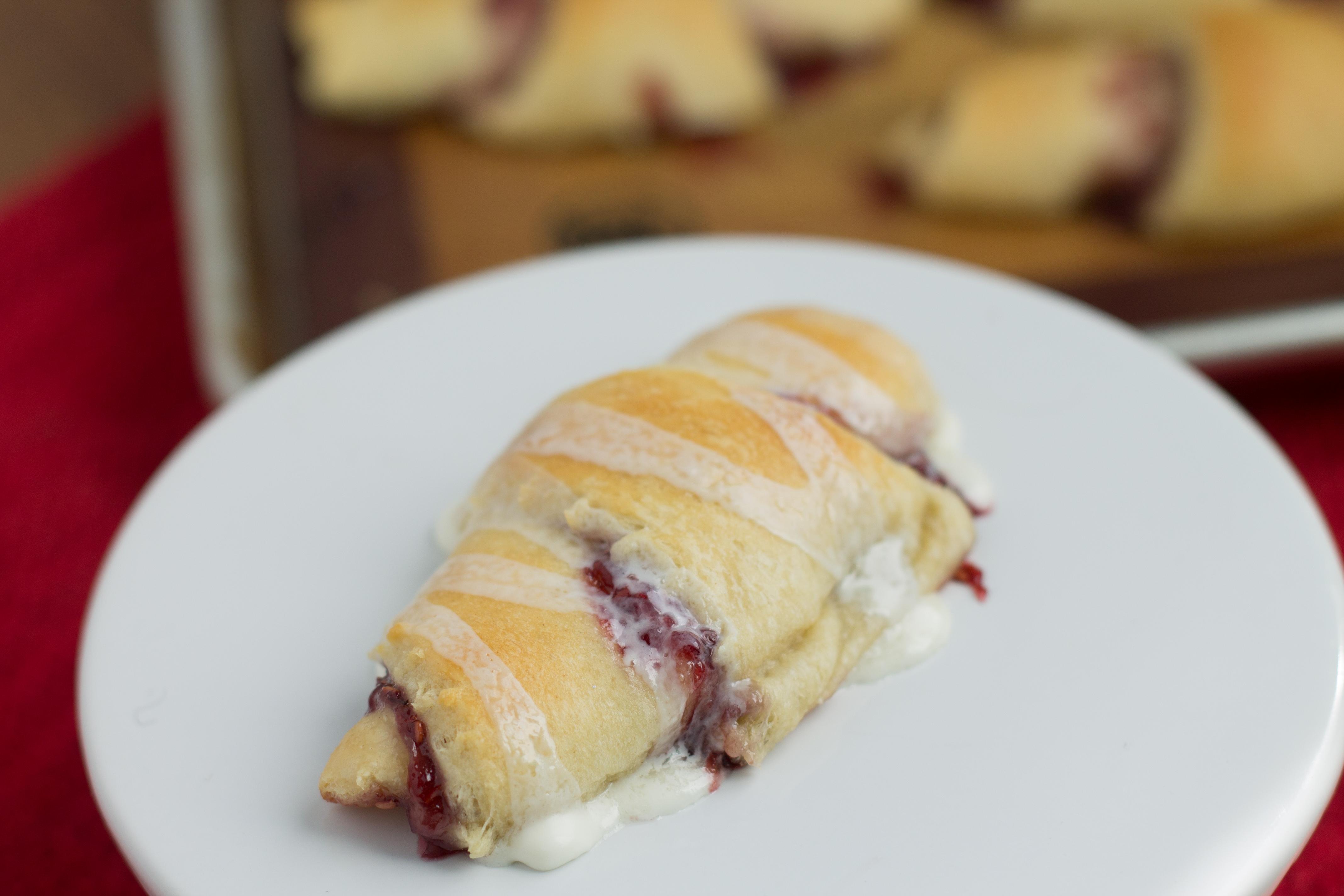 Raspberry Jelly Crescents: Baking Ideas