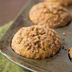Pumpkin-Streusel- Muffins