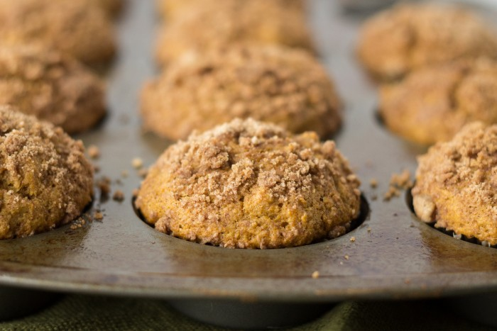 Pumpkin Streusel Muffins-7500