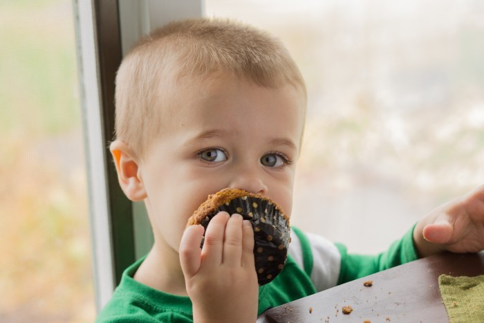 Pumpkin Streusel Muffins-7539