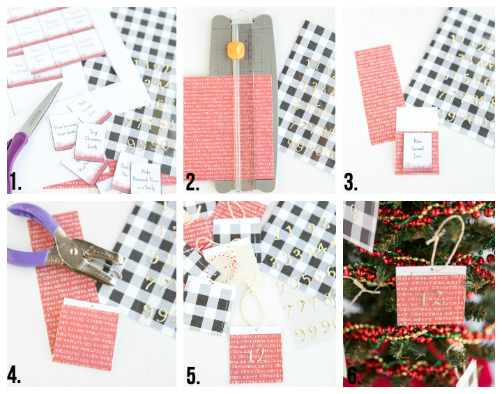 Advent Printable Pocket How To Steps