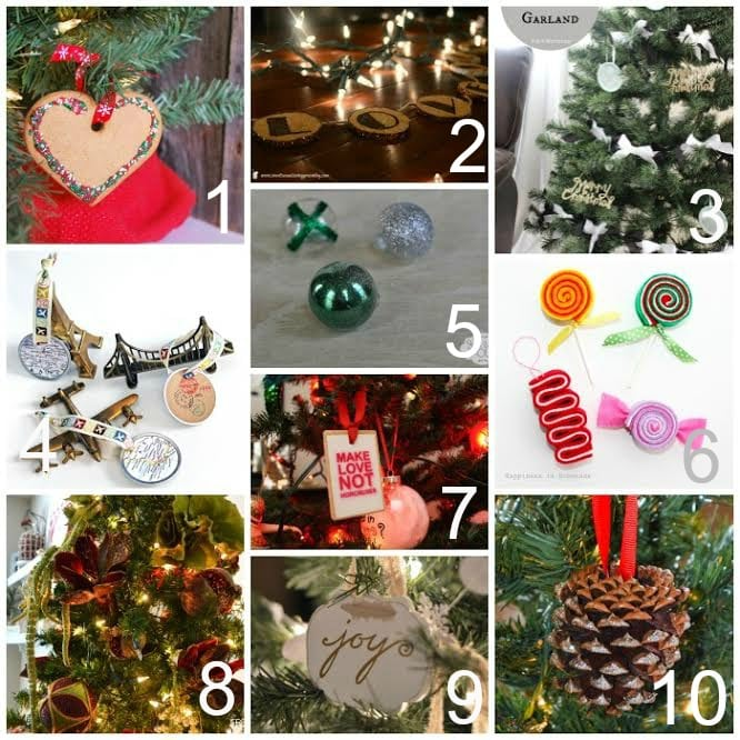 trim the tree 3 - Candy Ornaments For Christmas Tree