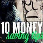 10 Money Saving Tips SQ MTBM