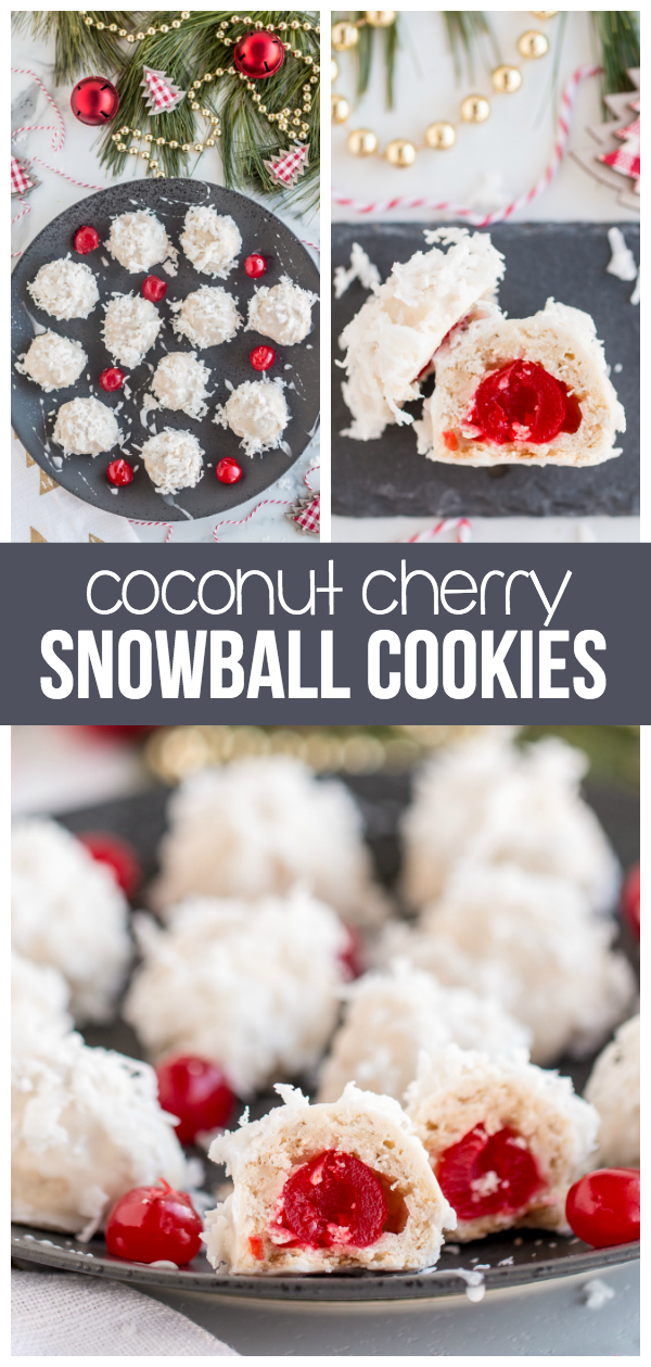 Coconut Cherry Snowball Cookies Made To Be A Momma