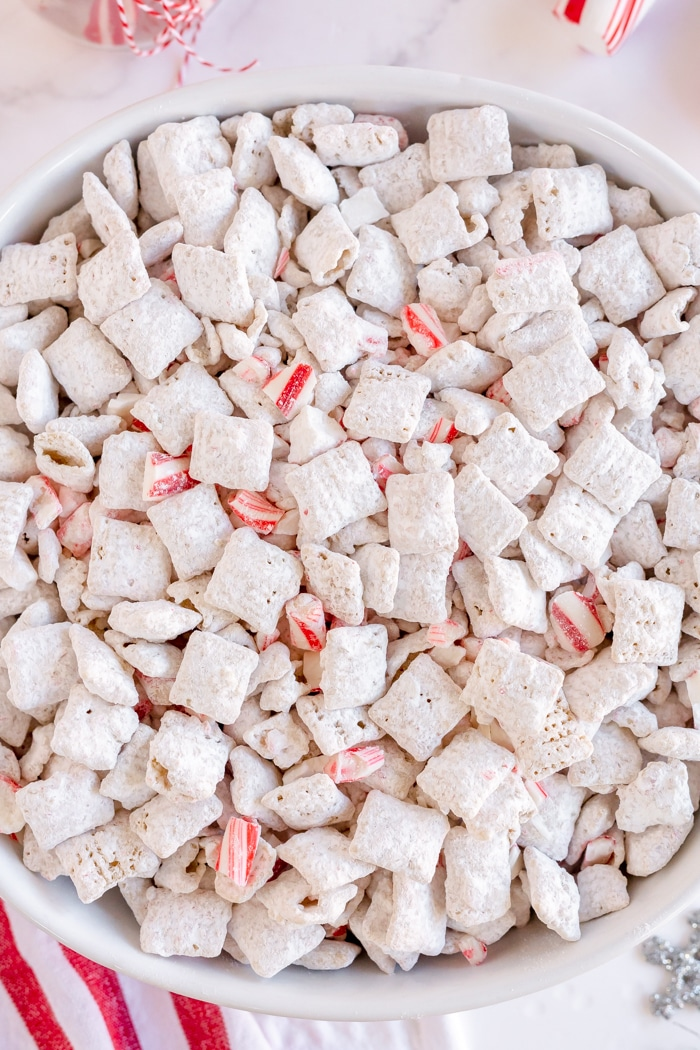 Peppermint Puppy Chow Made To Be A Momma