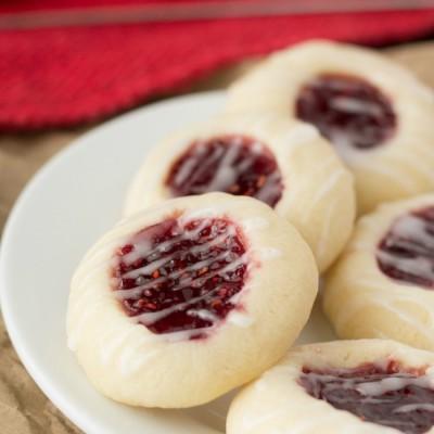 Raspberry Almond Meltaways