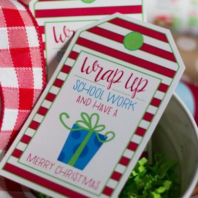 """""""Wrap Up"""" Christmas Printable"""