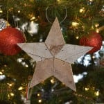 patchwork star ornament