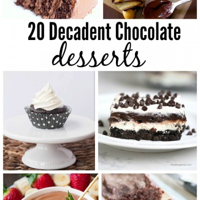 20 Decadent Chocolate Sweets