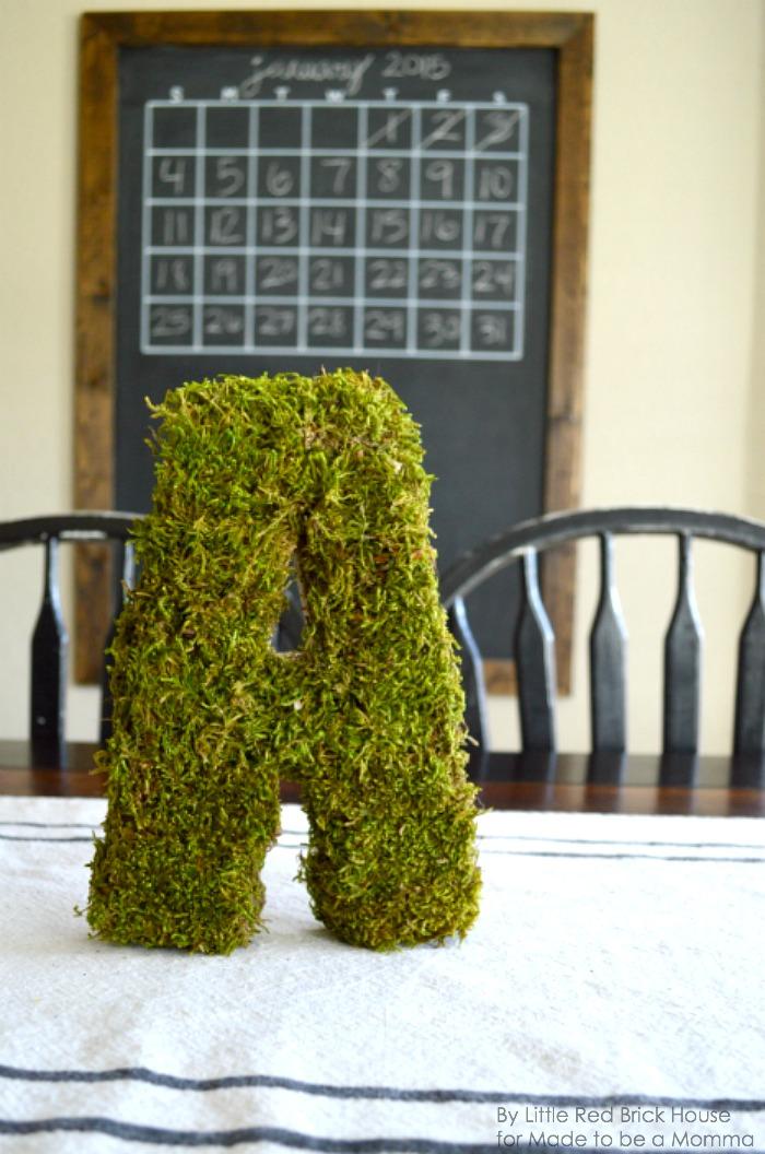 Moss Letter A