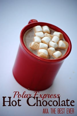 Polar Express Hot Choc