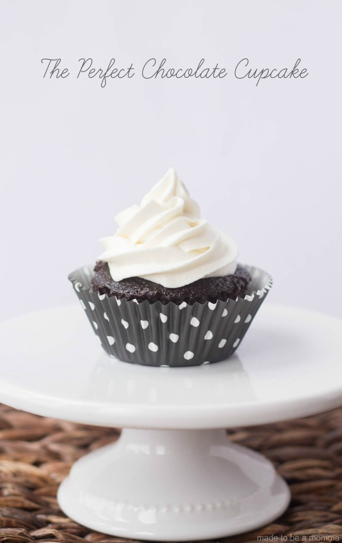 PERFECT CHOCOLATE CUPCAKE: simple, delicious and oh so chocolatey!