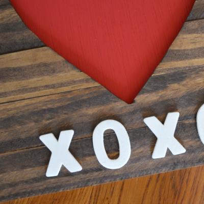 Valentine's Heart Wood Cutout