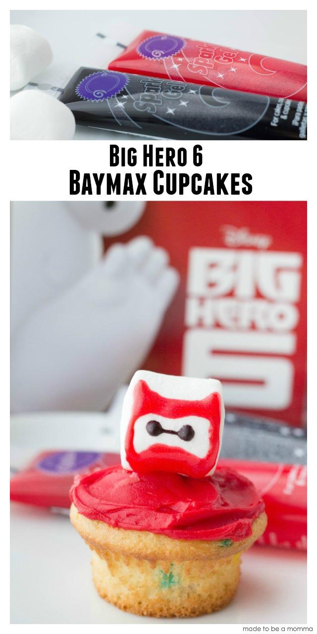 Baymax Big Hero 6 Cupcakes