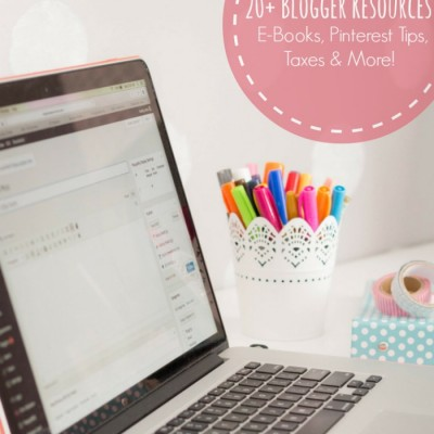 20 Blogger Resources