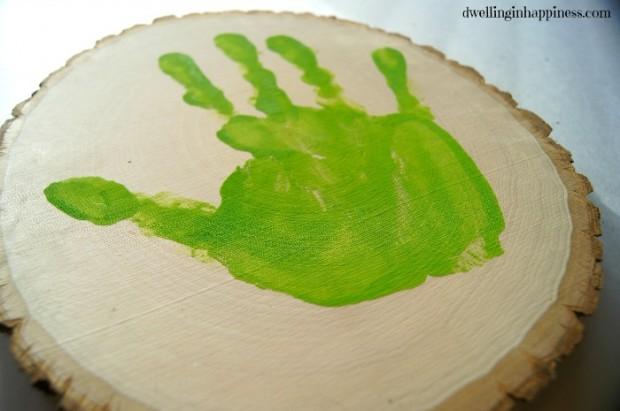 First Handprint
