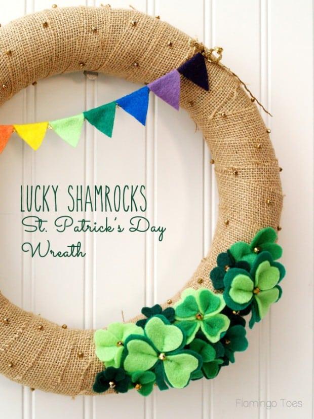 Lucky-Shamrocks-St-Patricks-Day-Wreath-675x900