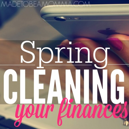Spring Cleaning Your Finances SQ