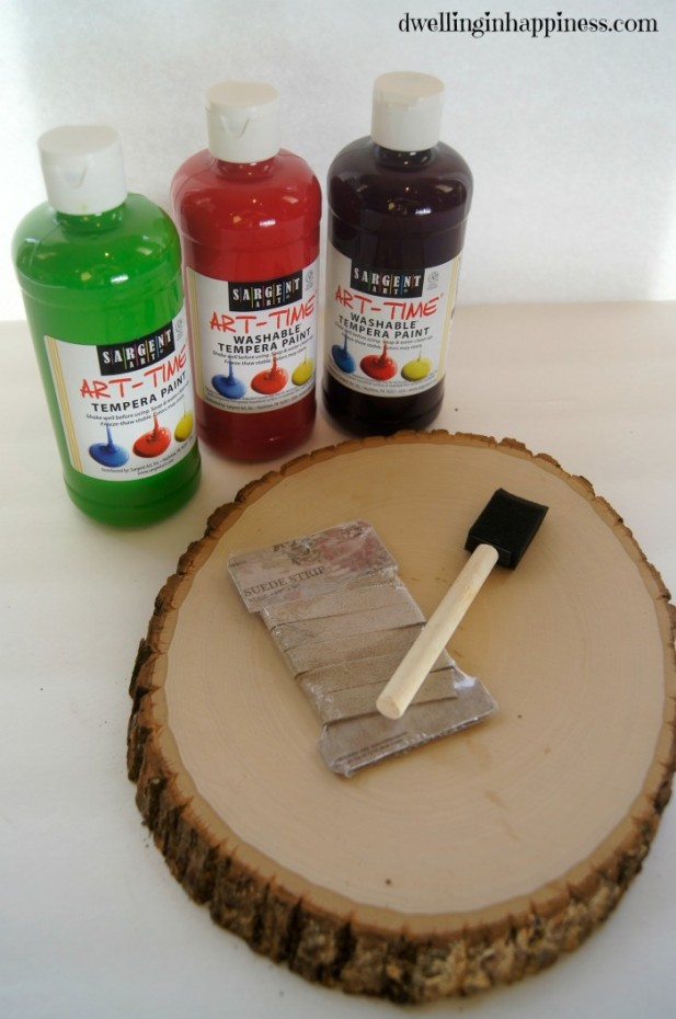 Wood Slice Materials