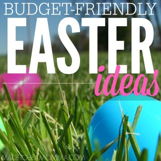 Need some ideas for a budget friendly Easter this year? These are just few ways to make sticking to a budget this Easter easier.