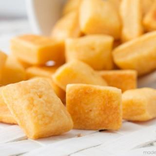Homemade Cheese Crackers-7