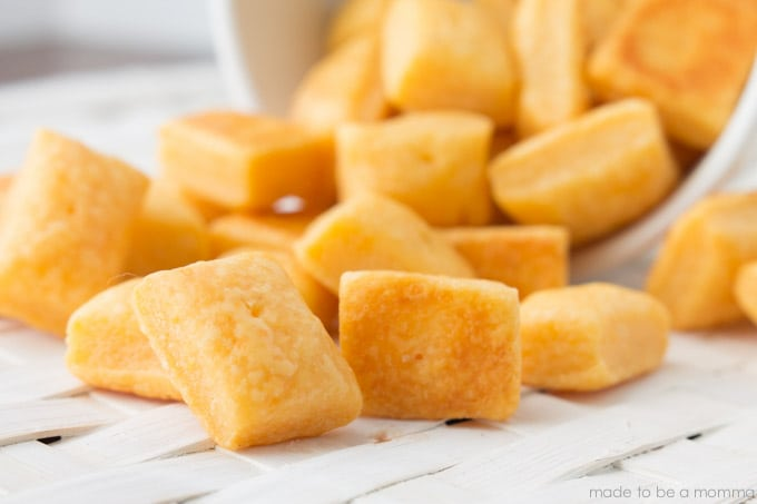 Homemade Cheese Crackers - Made To Be A Momma
