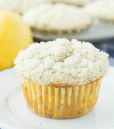 Lemon Poppyseed Crumb Muffins
