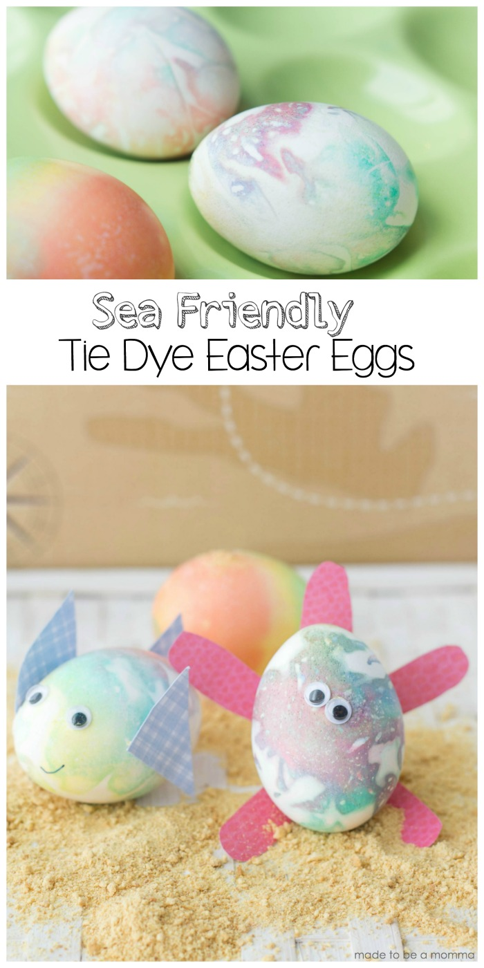 Sea Friendly Tie Dye Easter Eggs with the PAAS Tie Dye Kit is such fun way to take your Easter egg creations up a notch!