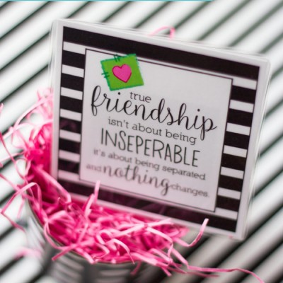 {Free} Friendship Quote Printable