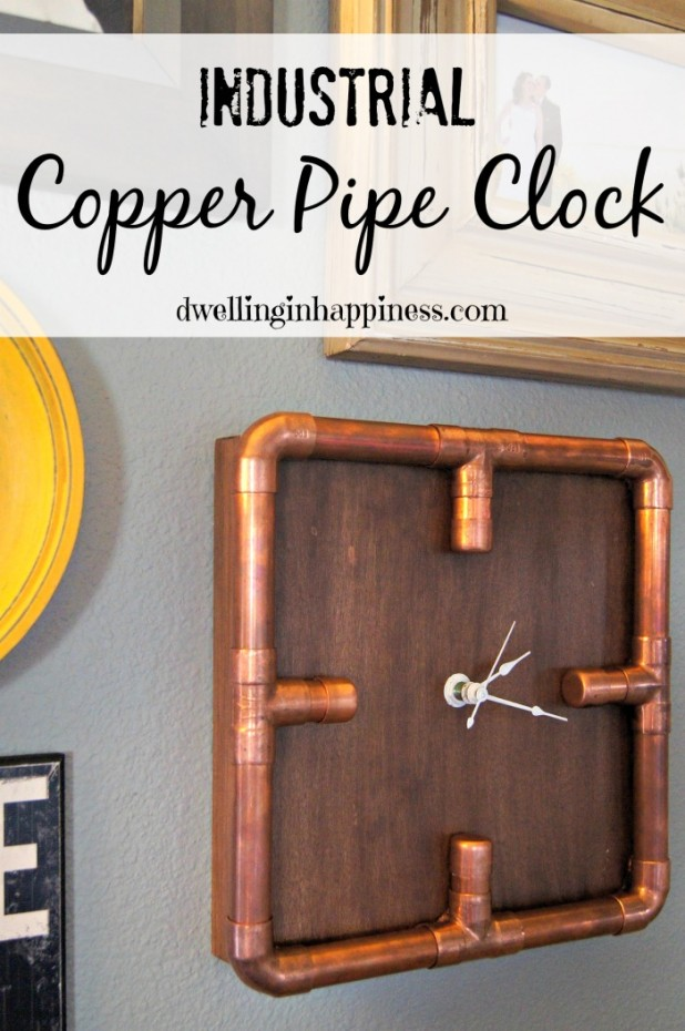 Copper Pipe Clock Main Pic