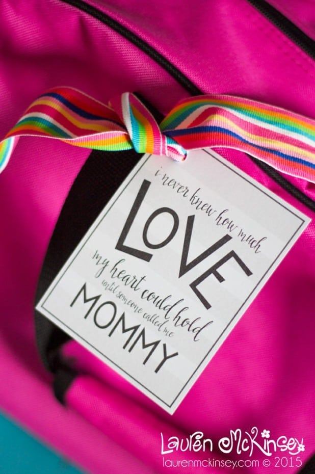Free Mother's Day quote printable from Lauren McKinsey for Made to be a Momma