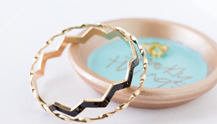 Terra Cotta Jewelry Bowl