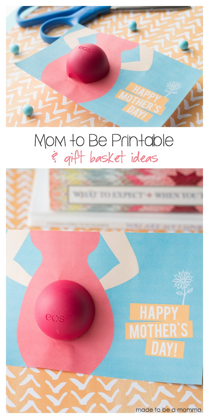 Mom to Be Printable