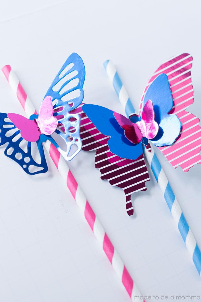 Minc Butterfly Straw-16