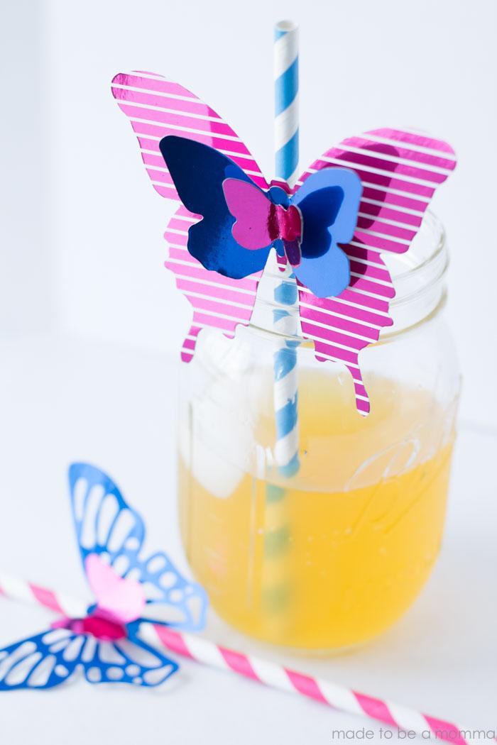 Minc Butterfly Straw-25