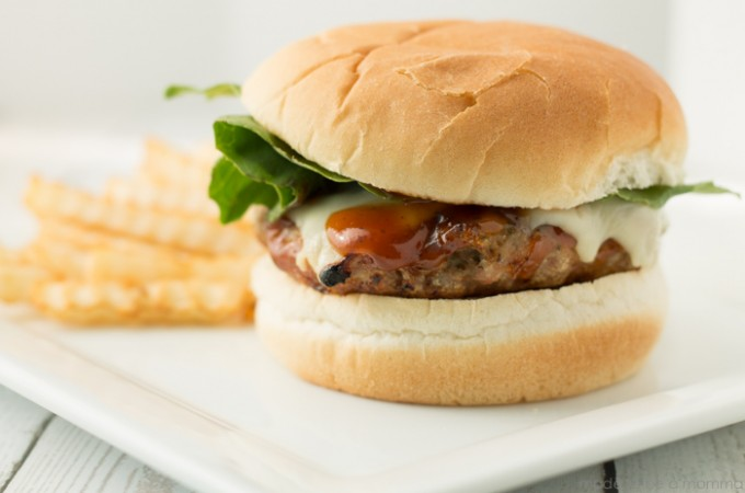 Ranch BBQ Turkey Burger-14